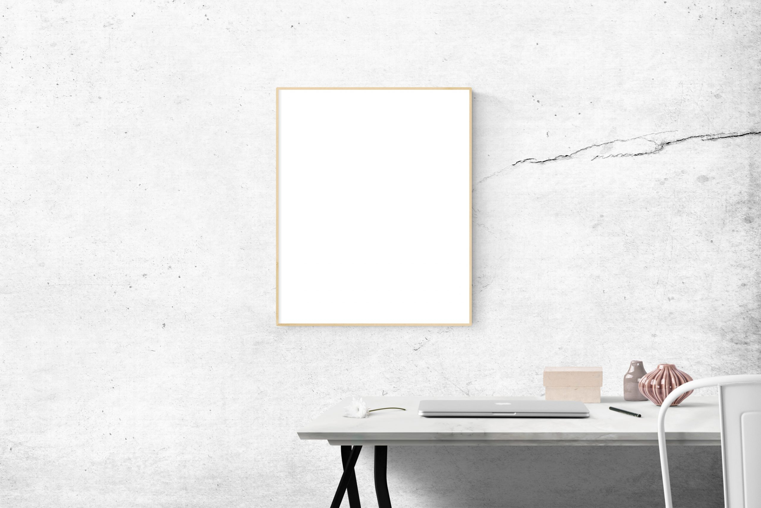 blank-frame-above-table-205321
